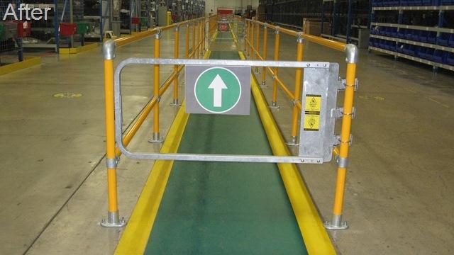 安全走道护栏