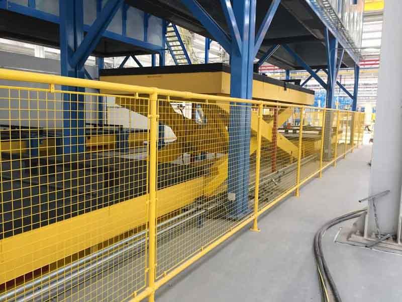 机械隔离护栏