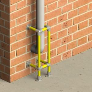 垂直防护栏 - 高1m