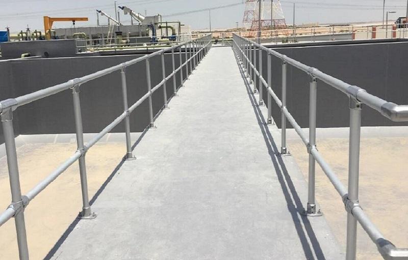 水处理池护栏方案