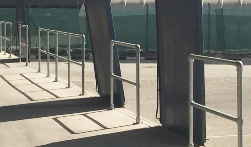 装卸货区域护栏
