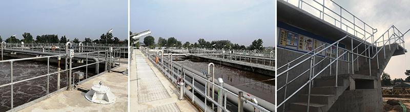 污水处理池护栏