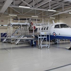 飞机维修平台