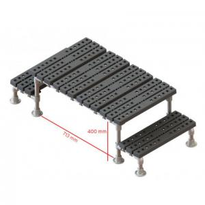 固定式简易过桥梯,间隙400x713mm