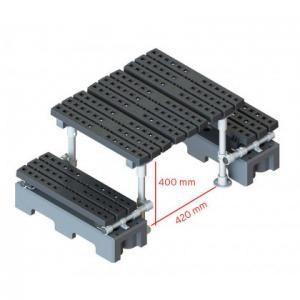 自立式简易过桥梯,间隙400x420mm