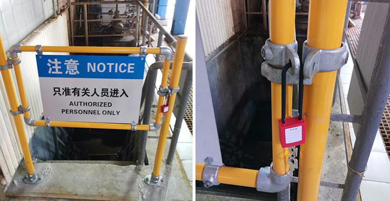 工厂安全门